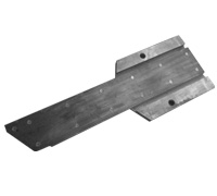 Lower rear guideplate 058110