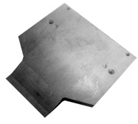 Upper rear guideplate 058109